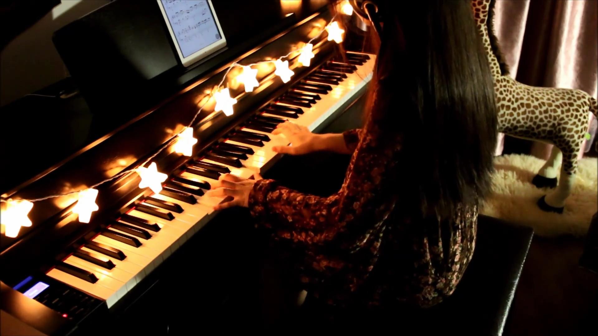 红昭愿 钢琴版