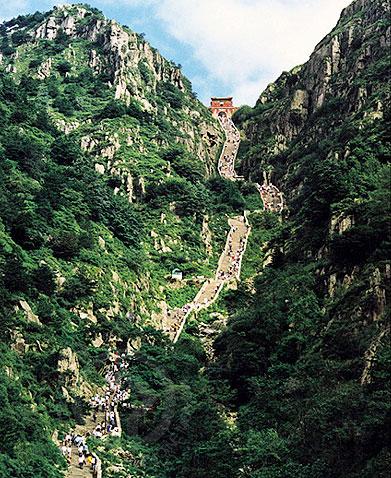 泰山十大风景图片