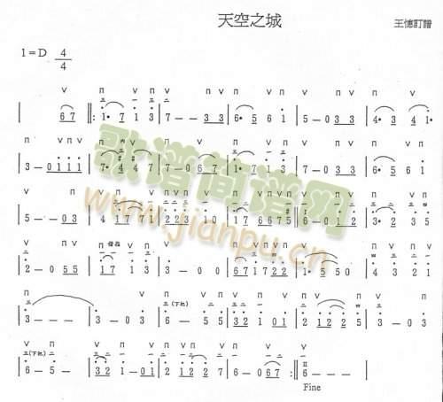 陶笛曲谱下载 - 陶笛之声的文字 - 5sing中国原创音乐