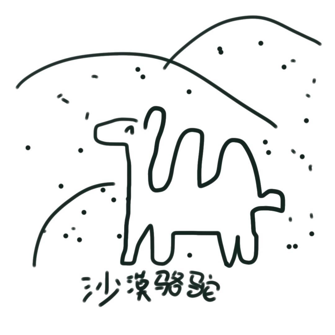 沙漠骆驼 feat.泥鳅niko图片