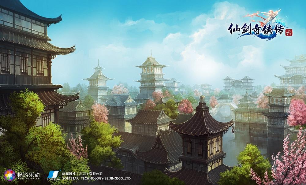 呼兰河传小城平面图