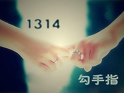 1314勾手指【紫风铃&香山飘红叶】